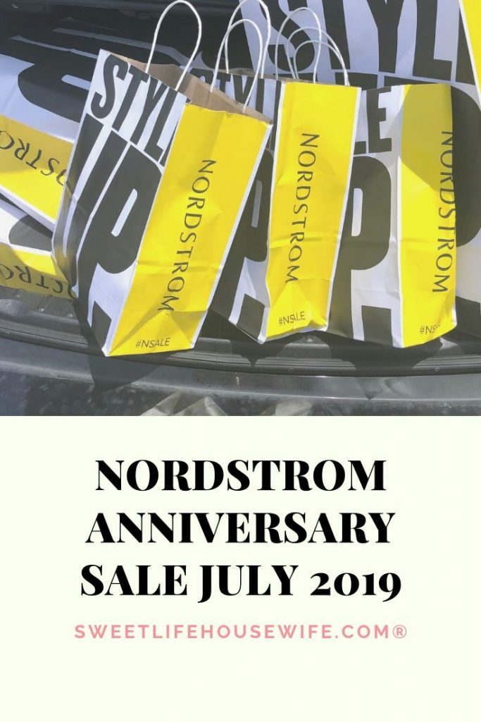 Nordstrom Anniversary Sale July 2019